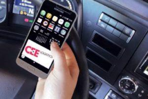 Řidiči logistické firmy posílají výkazy z cest přes aplikaci